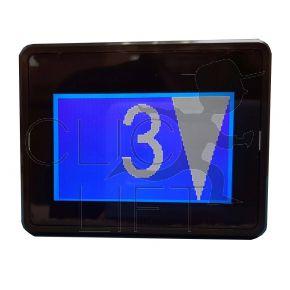 3 inch blue LCD display SAF