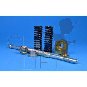 Assembled spring brake (electrobrake lg 133mm)