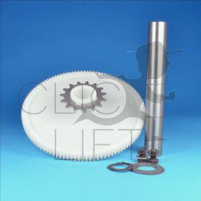 Plastique wheel +axle for selector 7039